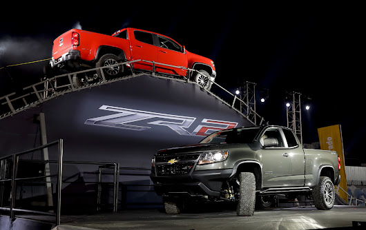 Chevy introduces the new Colorado ZR2, an off-road-ready pickup