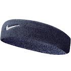 Nike Swoosh Headband, Obsidian/White