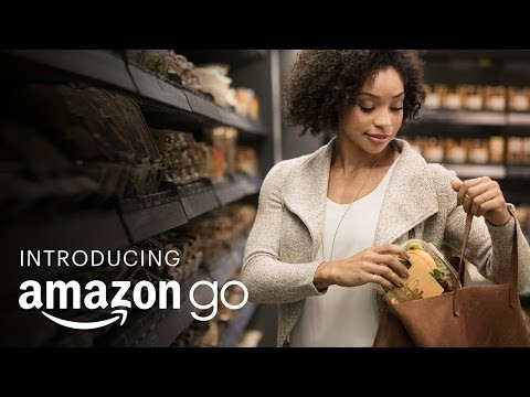That's Real! Meet Amazon's Grab & Go Shopping Mode! Open in early 2017!!!