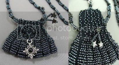 Black Amulet Bag by Le Beadoir