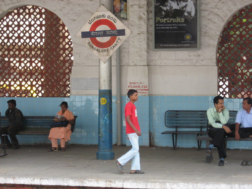 Bangalore station taken by Callum