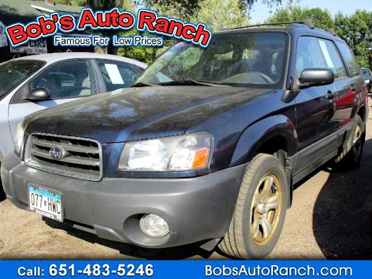Used 2005 Subaru Forester 2.5 X for Sale in Lino Lakes MN 55014 Bobs Auto Ranch