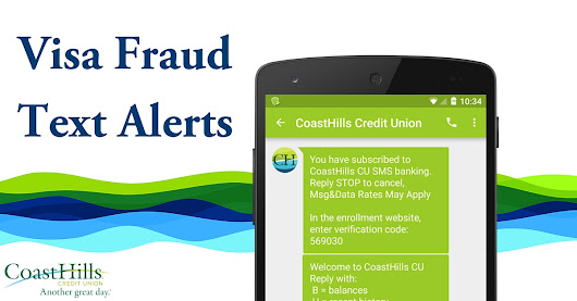 Credit card blocked? Text to instantly re-activate | CoastHills Credit Union