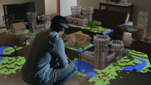 We just tried HoloLens, Microsoft's most intriguing product in years