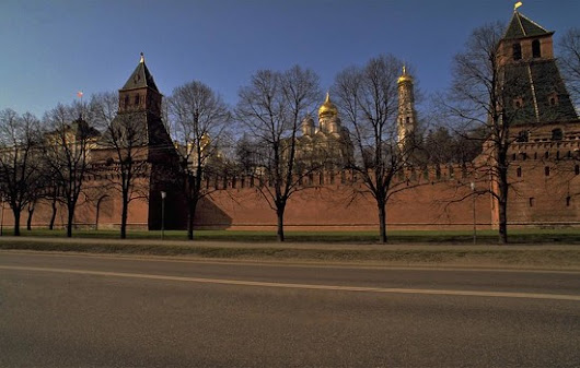 Moscow Kremlin in Winter