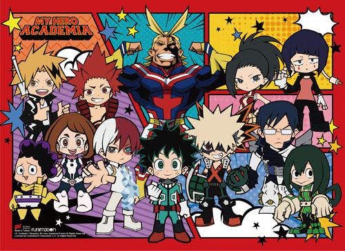 My Hero Academia Sd Character Group Wall Scroll 27014gea Mobilenav Buttons