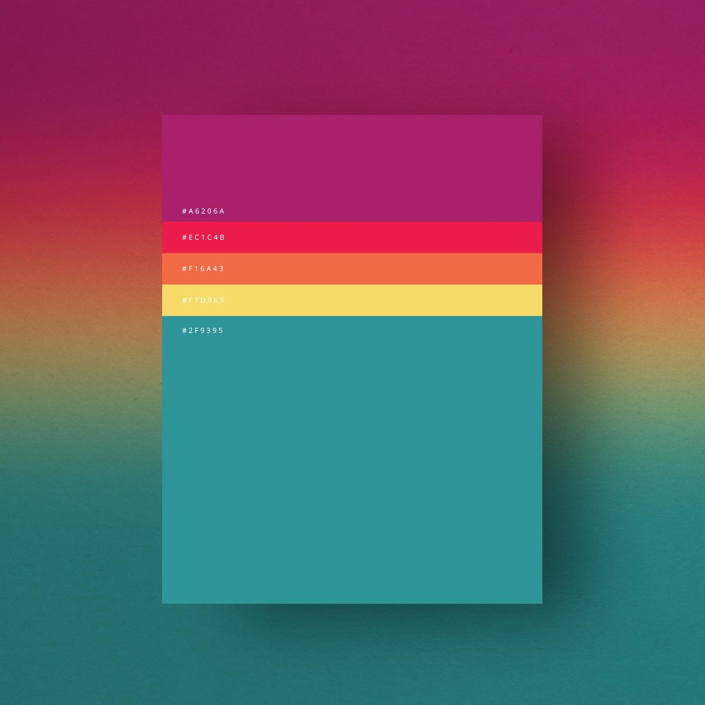 Minimalist Color Palettes Of 2015 Ttlg Design