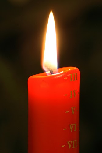 Advent Candle Liturgy 1: Hope One Advent Candle