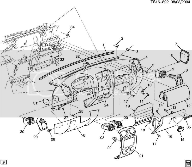 2007 Chevy Cobalt Exhaust System Diagram