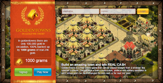How To Get Free Bitcoins Playing Games: GoldenTowns