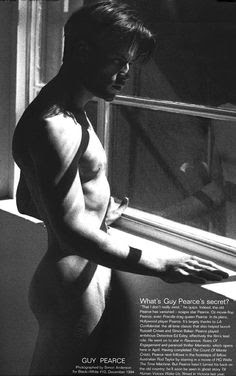 Guy Pearce Naked Pics (@Tumblr)   Top 12 Hottest