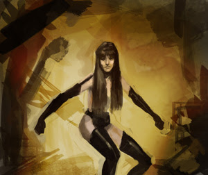 concept, drawing, sketch, how to, tutorial, watchmen, comics, superhero, movies, Silk Spectre, night owl, mask, jupiter, allen moore, Doctor Manhattan, Rorschach
