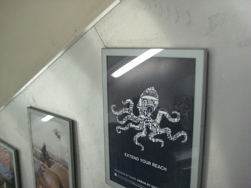 CBS Outdoor Tube Poster - Octopus