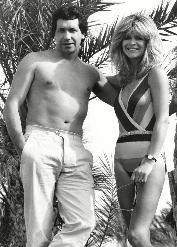 John Palmer And Wife Marnie in Tenerife