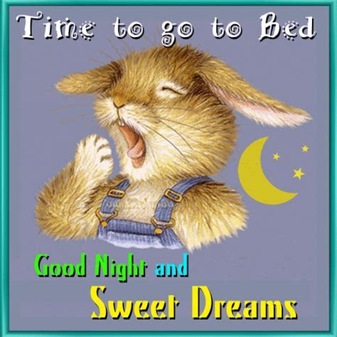 Time To Go To Bed. Free Good Night eCards, Greeting Cards