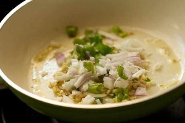 onions for veg manchurian sauce