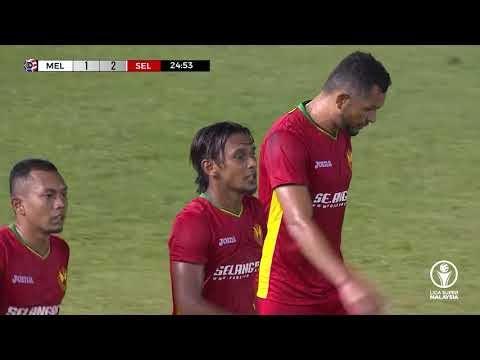 Melaka United 3-4 Selangor