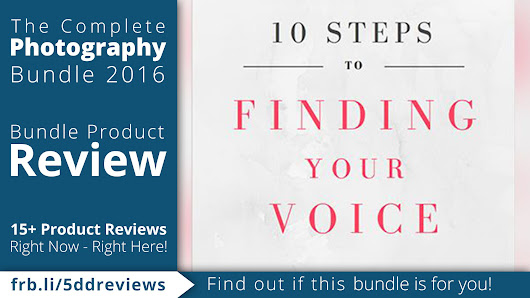 5DayDeal Review: 10 Steps to Finding Your Voice eBook by Karen Hutton - farbspiel photography