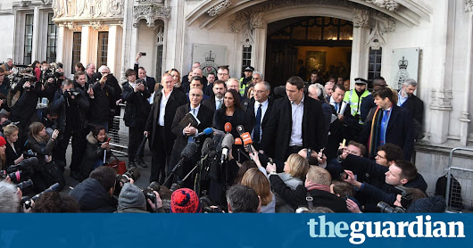 Supreme court rules parliament must have vote to trigger article 50 | Politics | The Guardian