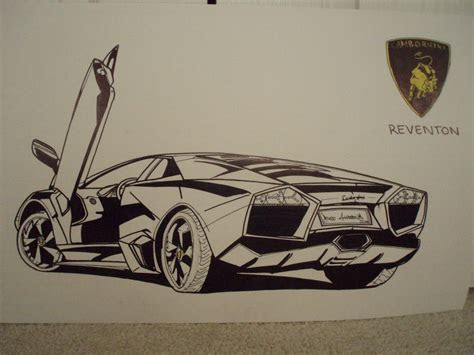 drawing drawings  cars  color pencil muscle car