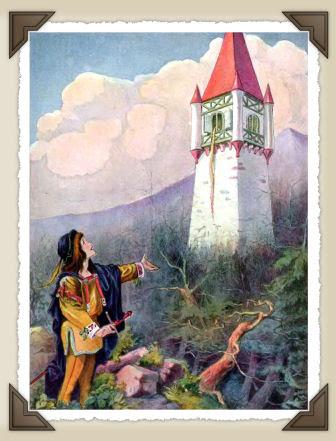 la principessa chiusa nella torre