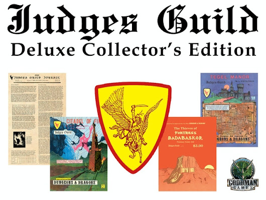 Update 21: 12 hours left! Last chance to pledge! · Judges Guild Deluxe Collector's Edition