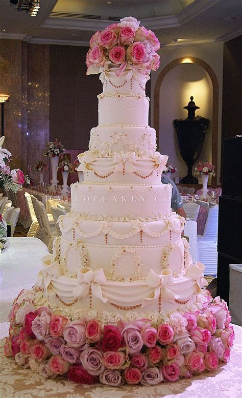 Best 25  Tall wedding cakes ideas on Pinterest