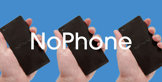 The Official NoPhone Store