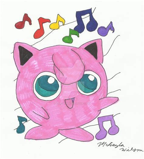 pokemon jigglypuff colored  nejicanspin  deviantart