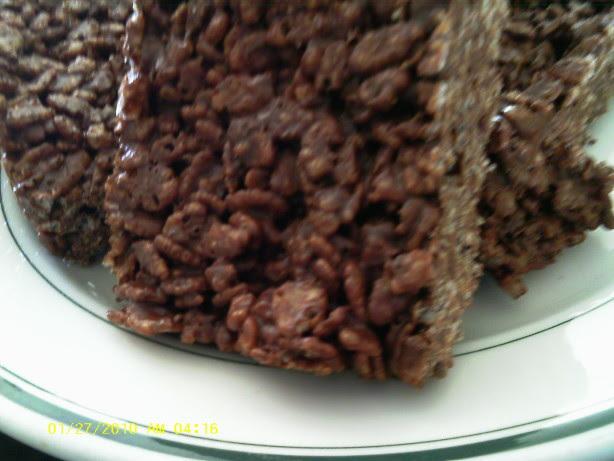 Rice Krispie Chocolate Bars Recipe - Food.com