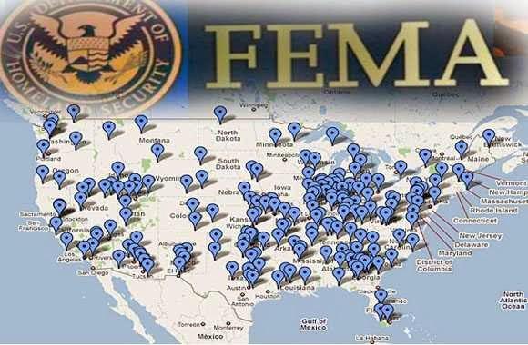 Fema Camp Map Fema Camps Map   Gadgets 2018