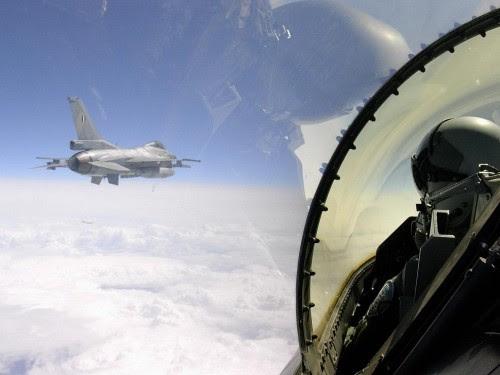 Οι Τούρκοι έστειλαν τα μαχητικά τους να αναχαιτίσουν τα Ελληνικά F-16