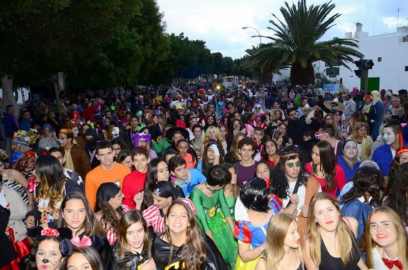 Resultado de imagen de carnaval de Arrecife