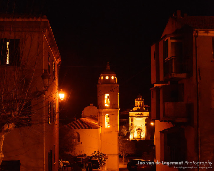 Cargèse by night