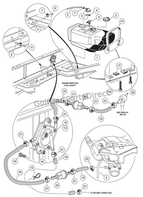 2000-2005 Club Car DS Gas or Electric - Club Car parts