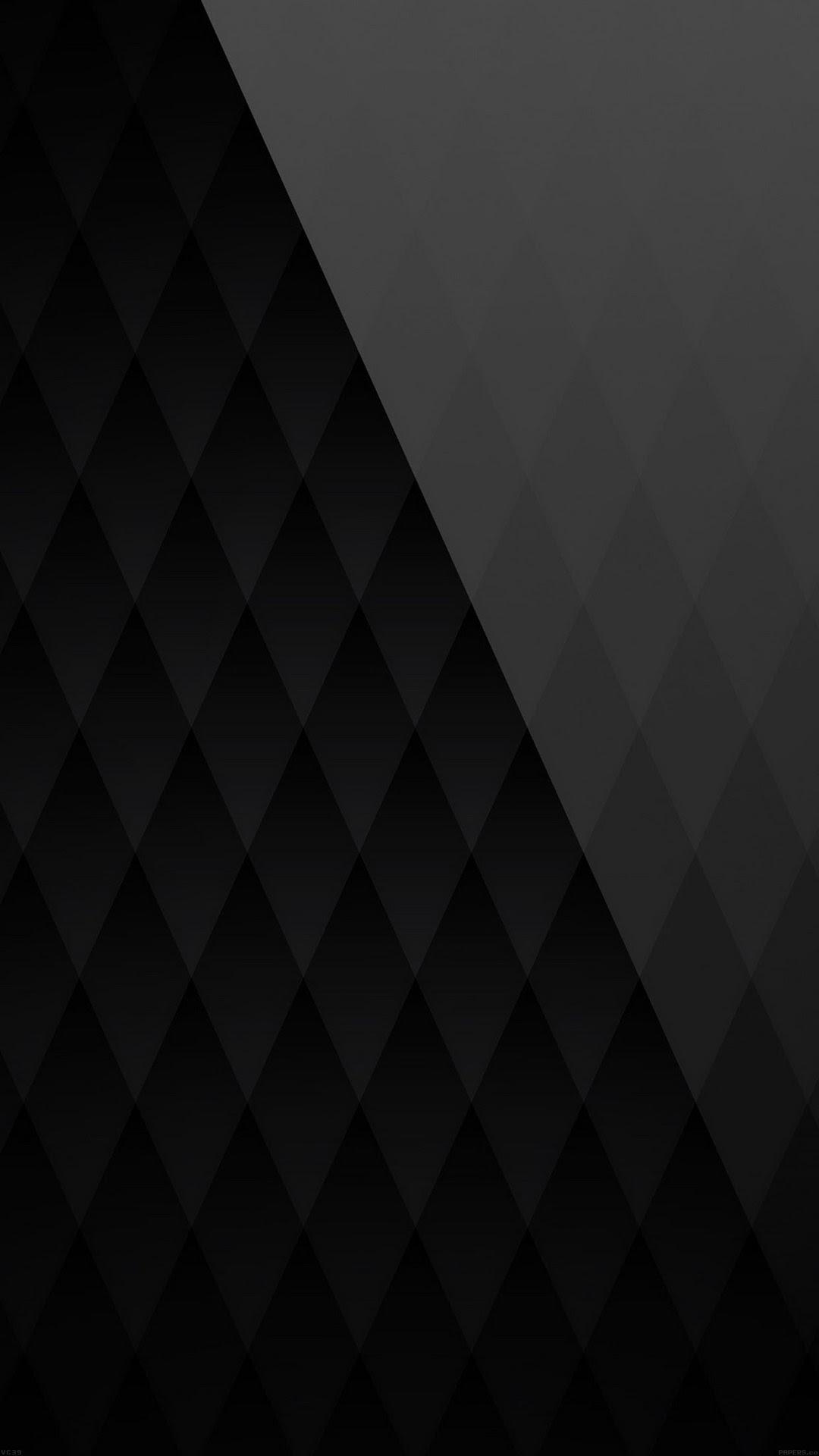 Black diamond pattern