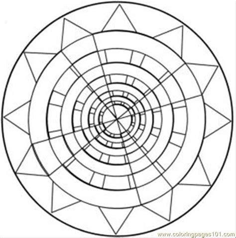 kaleidoscope  med coloring page  kaleidoscope