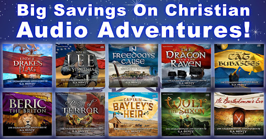 "Lowest Prices Ever On ""Award Winning"" Christian Audio Adventures..."
