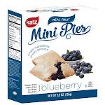 Katz Gluten Free Blueberry Mini Pies 5.5 Oz