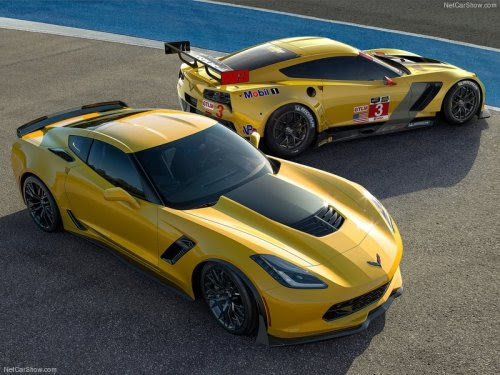 Actually I'm stoked for both the new Z06 and the C7R racer. The Z06 is now becoming a half-decent supercar because its V8 engine is more powerful than the Huracan or the 458 Speciale while the C7R shows that this new model is ready for motorsports purposes.  If you're from Forza Motorsport or Need For Speed or any other racing game; NO. YOU CAN'T HAVE 'EM. Because the C7 Corvette remains a Gran Turismo exclusive, both the C7 ZO6 and the C7R are reserved for future installments of Gran Turismo. That's it.