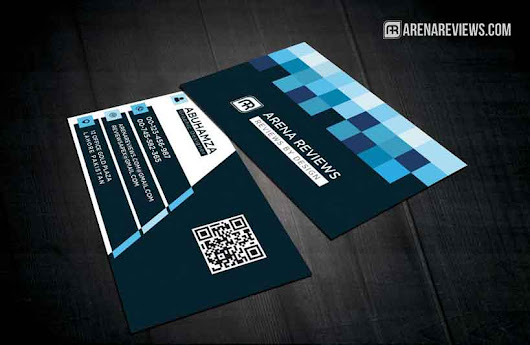Free Modern Corporate Square Abstract Business Card Template