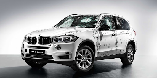 BMW Showed Off Its New Armored SUV By Attacking It With A Machine Gun