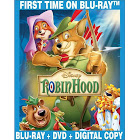 Robin Hood, 40th Anniversary Edition, 2-disc [Blu-ray, 2013]
