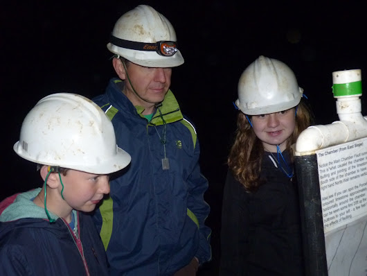 Our family caving adventure down Gaping Gill, North Yorkshire - A family day out