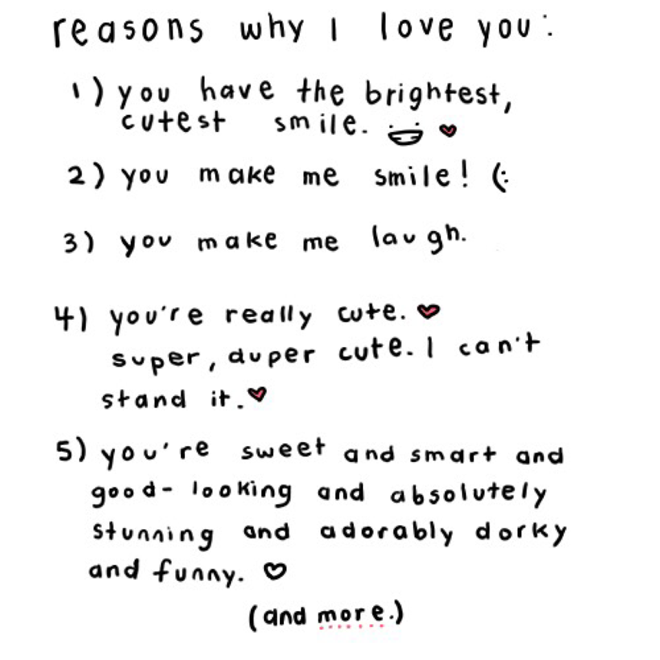 Quotes About Reason I Love You 61 Quotes