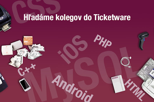 Hľadáme nových kolegov do Ticketware: PHP Programátor, iOS Developer, Customer Support | Ticketware