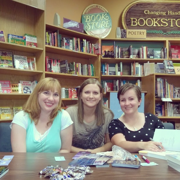 Got to meet #authors Natalie Whipple & Kiersten White tonight. Loved them both!