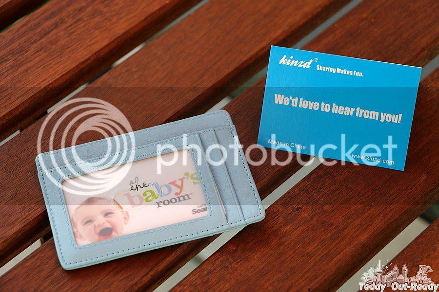 Kinzd Minimalist Wallet Blue