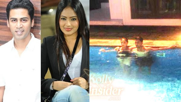 What Singer Krish is doing with Kannada actress Nikesha in Goa?
