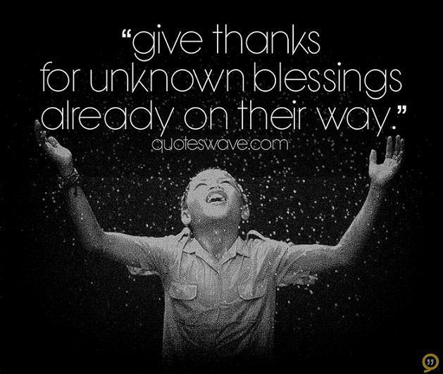 Quotes About Give Thanks 198 Quotes